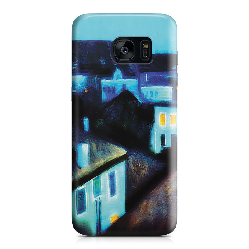 Galaxy S7 Edge Case - Night in Nice by Edvard Munch