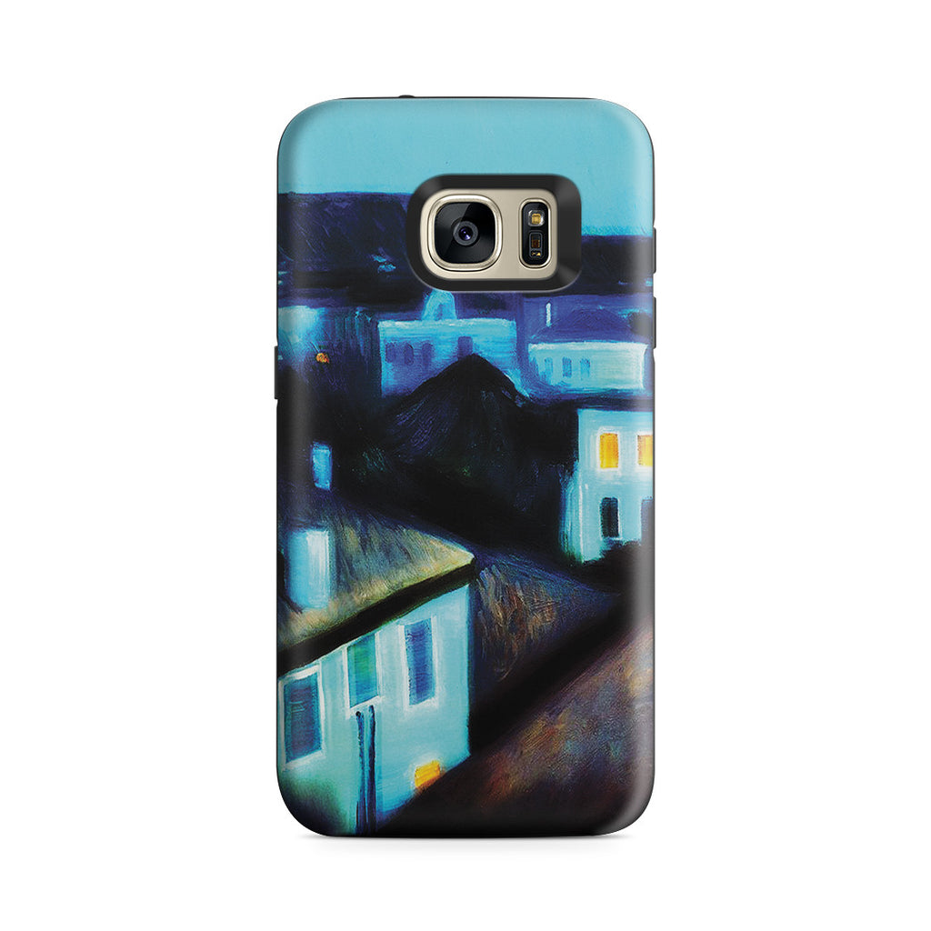 Galaxy S7 Adventure Case - Night in Nice by Edvard Munch