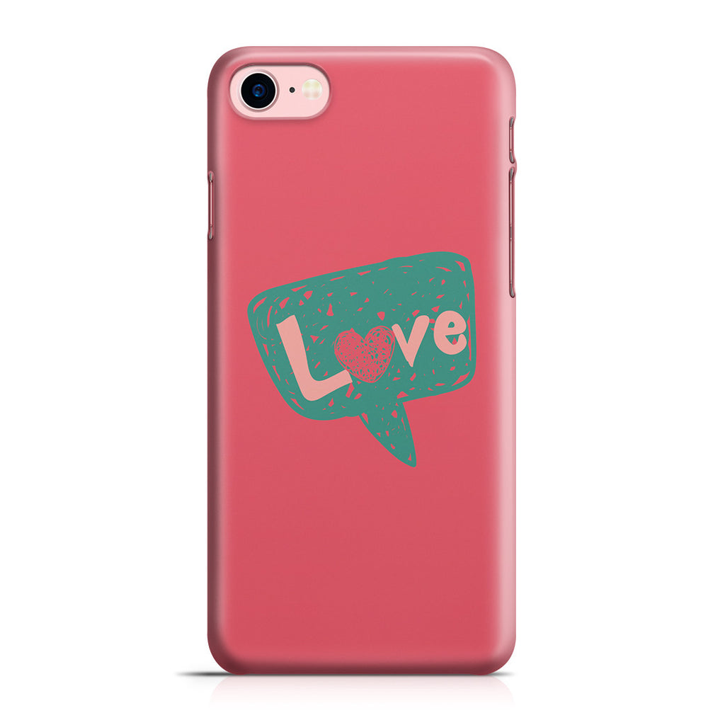 iPhone 7 Case - I Love You