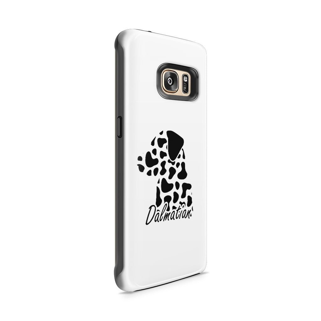 Galaxy S7 Edge Adventure Case - Dalmatian