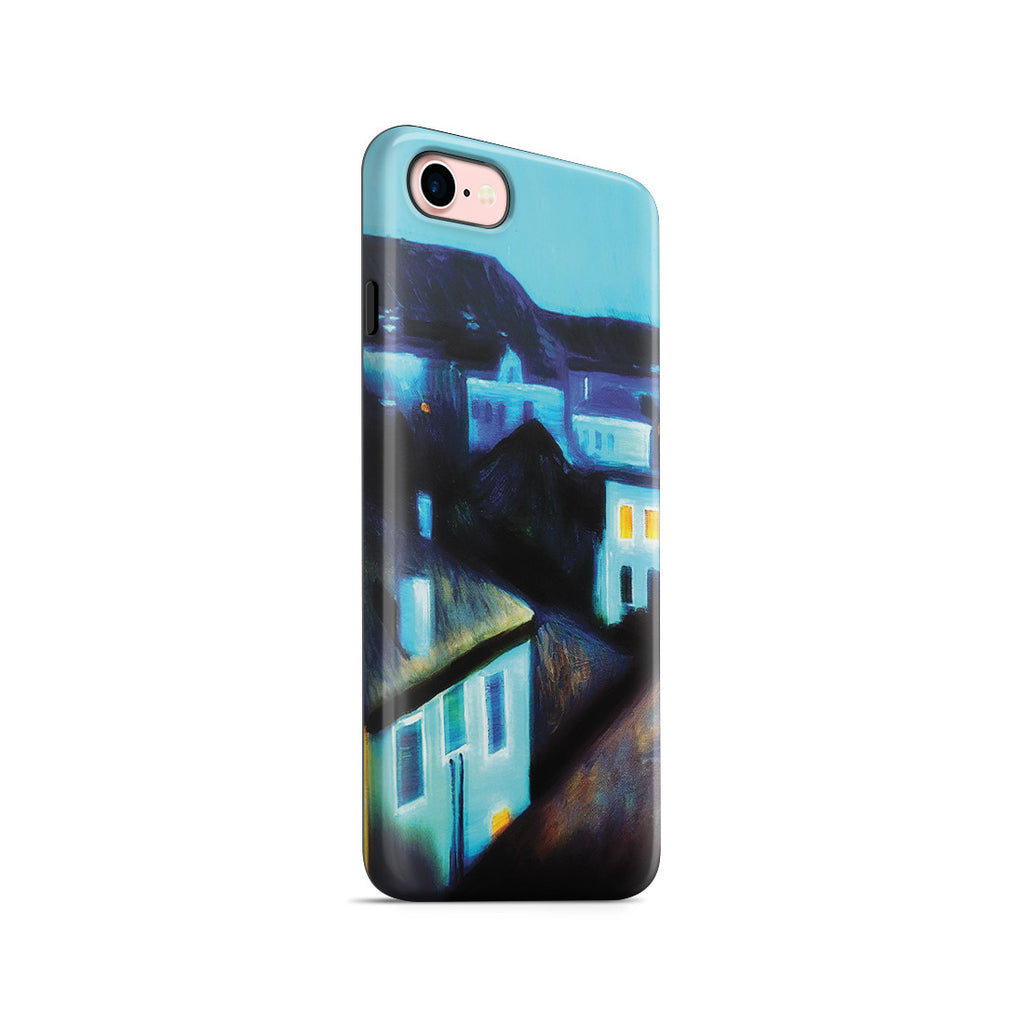 iPhone 7 Adventure Case - Night in Nice by Edvard Munch