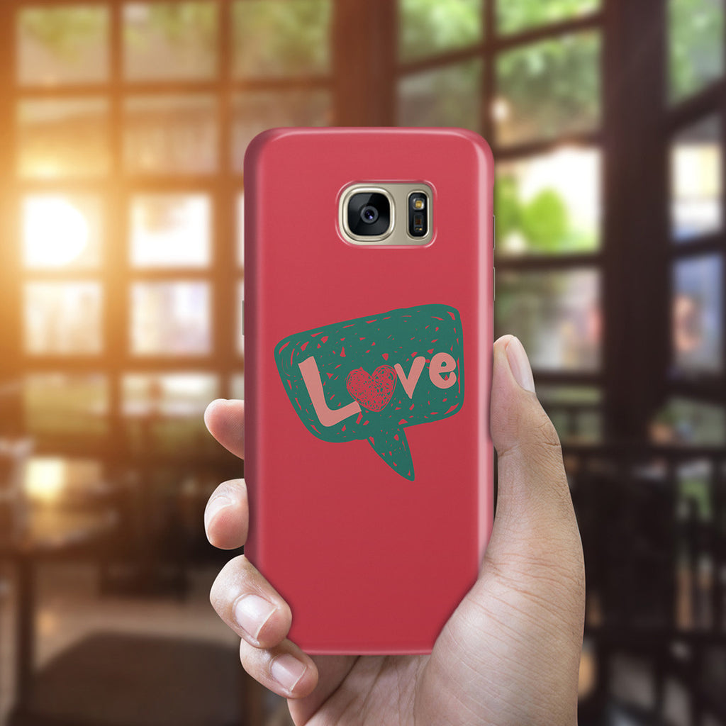 Galaxy S7 Edge Case - I Love You