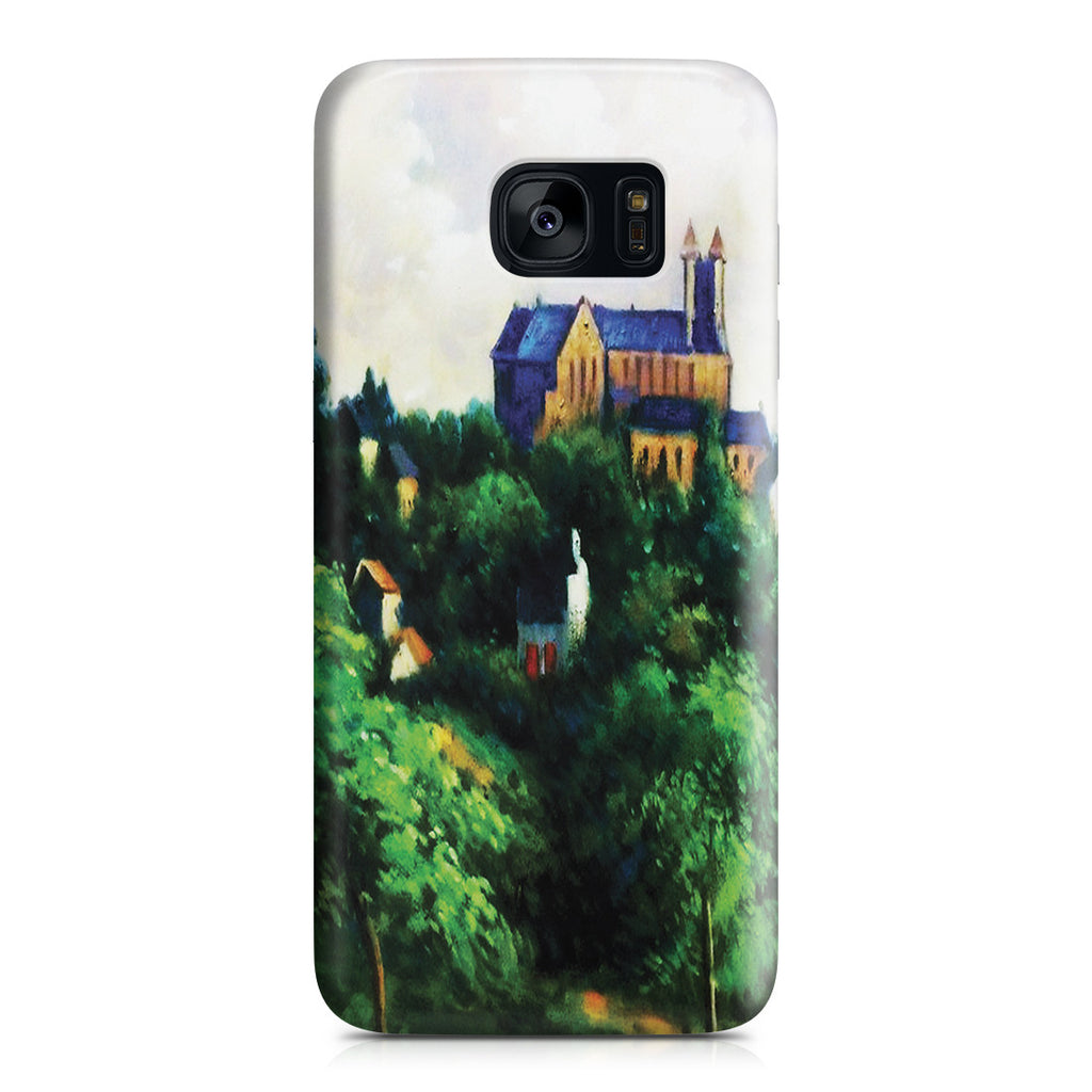 Galaxy S7 Edge Case - Notre Dame des Agnes, 1884 by Paul Gauguin