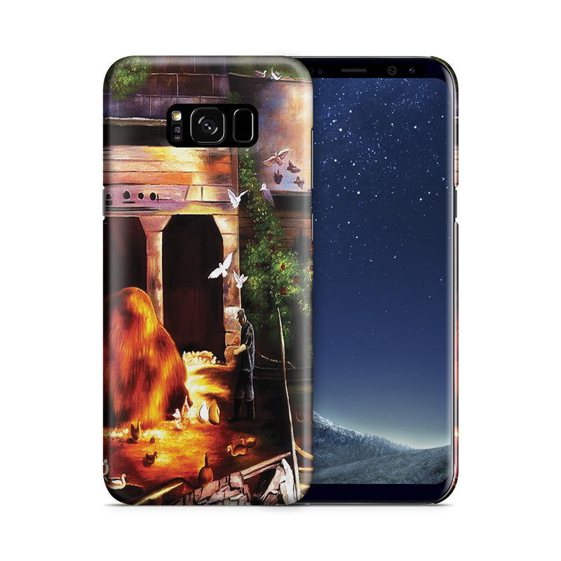 Galaxy S8 Plus Case - Old Farmyard, Toodleums by George Wesley Bellows