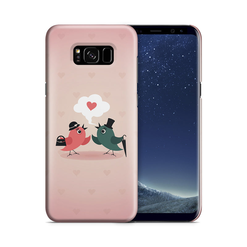 Galaxy S8 Plus Case - Without Love We are Birds with Broken Wings