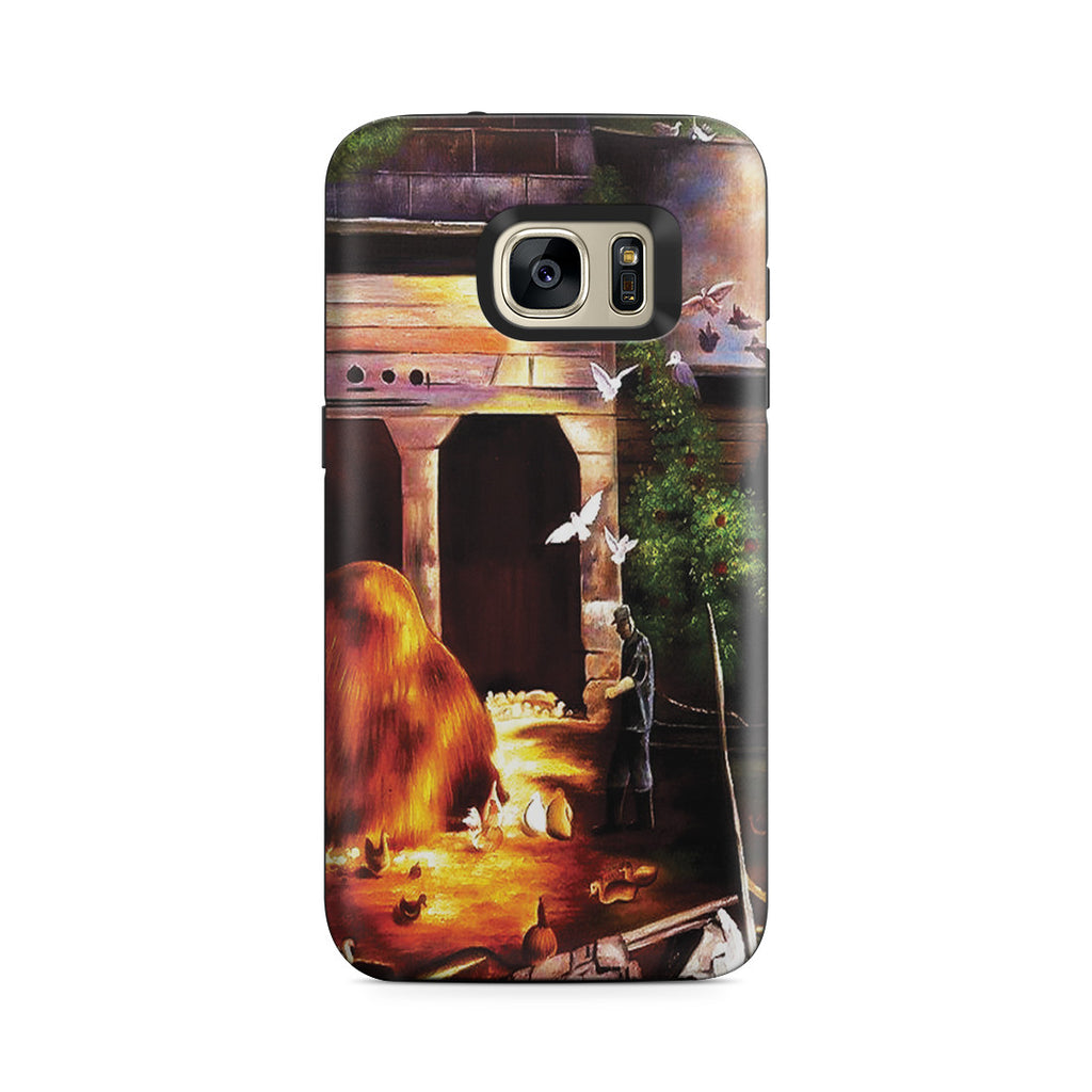 Galaxy S7 Adventure Case - Old Farmyard, Toodleums by George Wesley Bellows