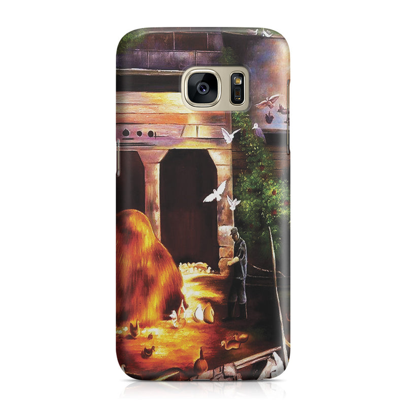 Galaxy S7 Case - Old Farmyard, Toodleums by George Wesley Bellows