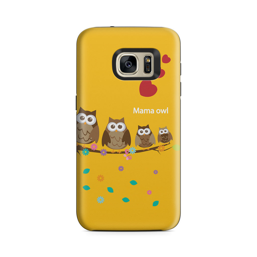 Galaxy S7 Adventure Case - Owl Family