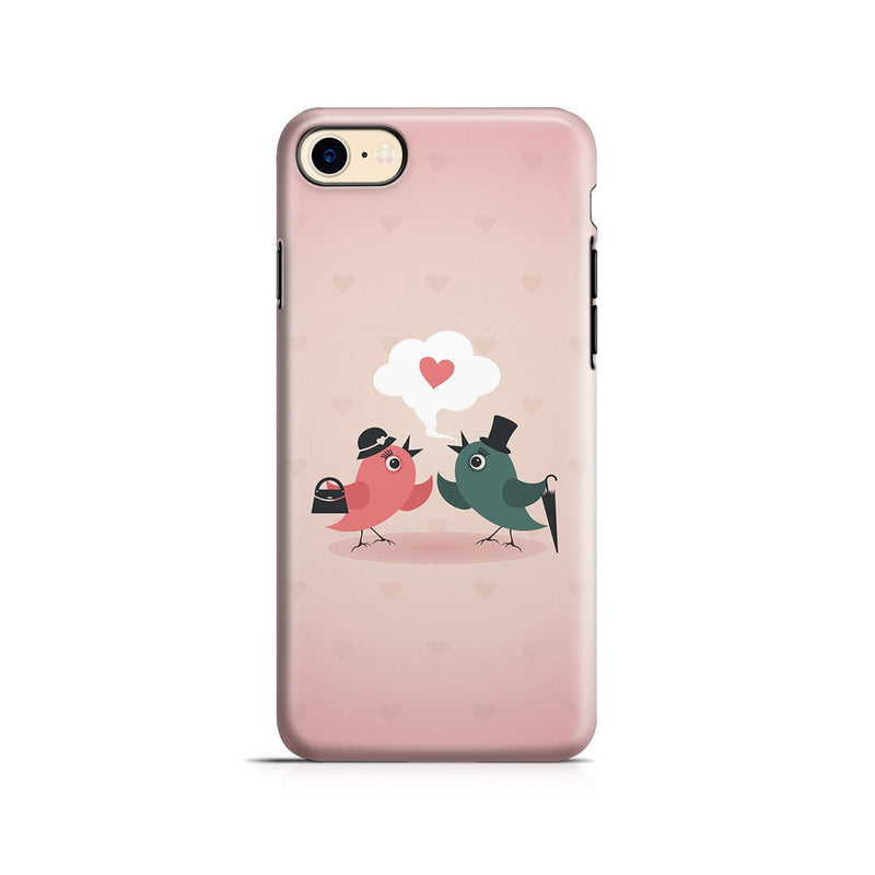 iPhone 8 Adventure Case - Without Love We are Birds with Broken Wings