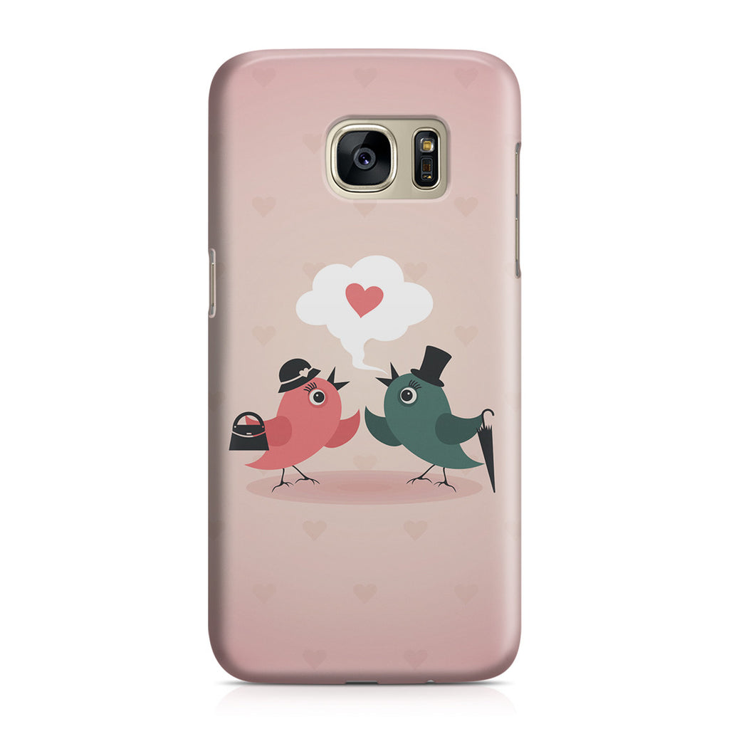 Galaxy S7 Case - Without Love We are Birds with Broken Wings