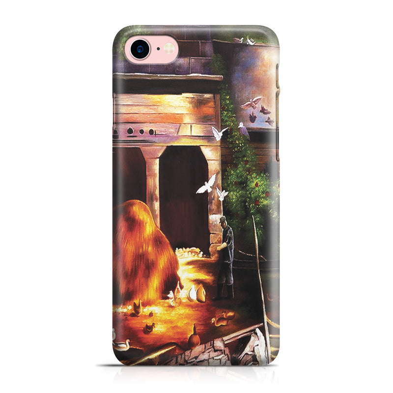 iPhone 7 Case - Old Farmyard, Toodleums by George Wesley Bellows