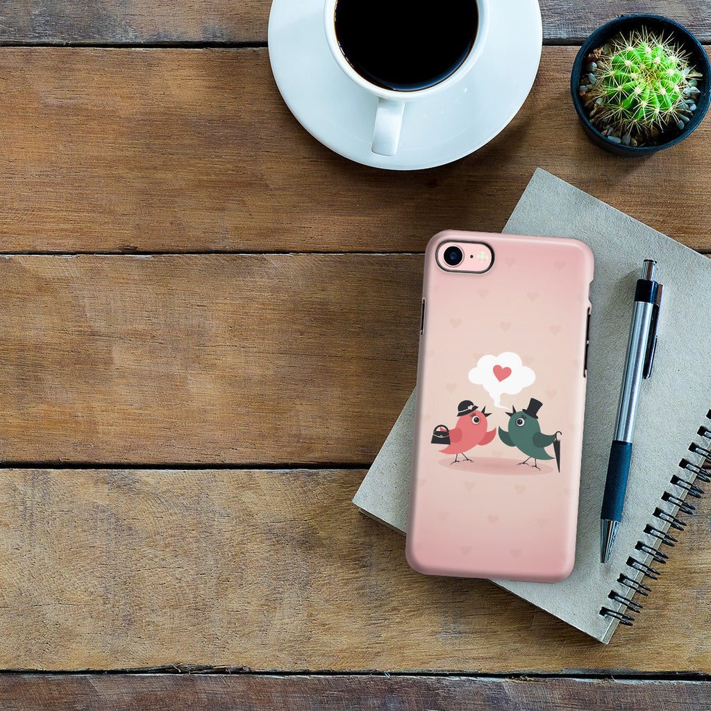 iPhone 7 Adventure Case - Without Love We are Birds with Broken Wings
