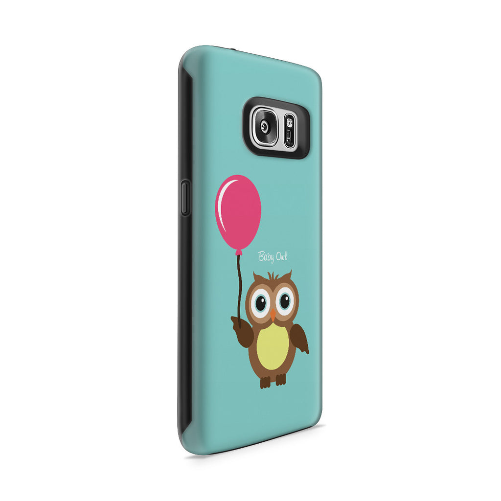 Galaxy S7 Adventure Case - Baby Owl