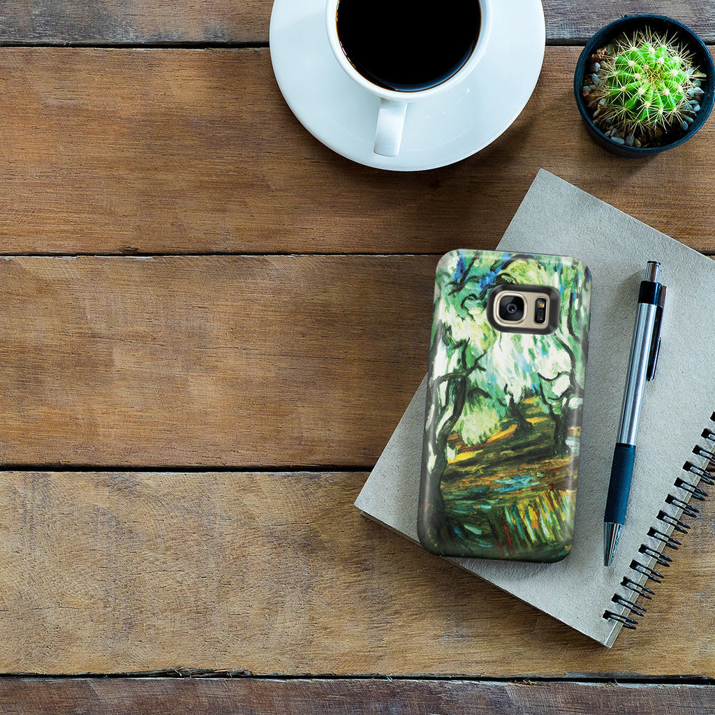 Galaxy S7 Edge Adventure Case - Olive Tree by Vincent Van Gogh