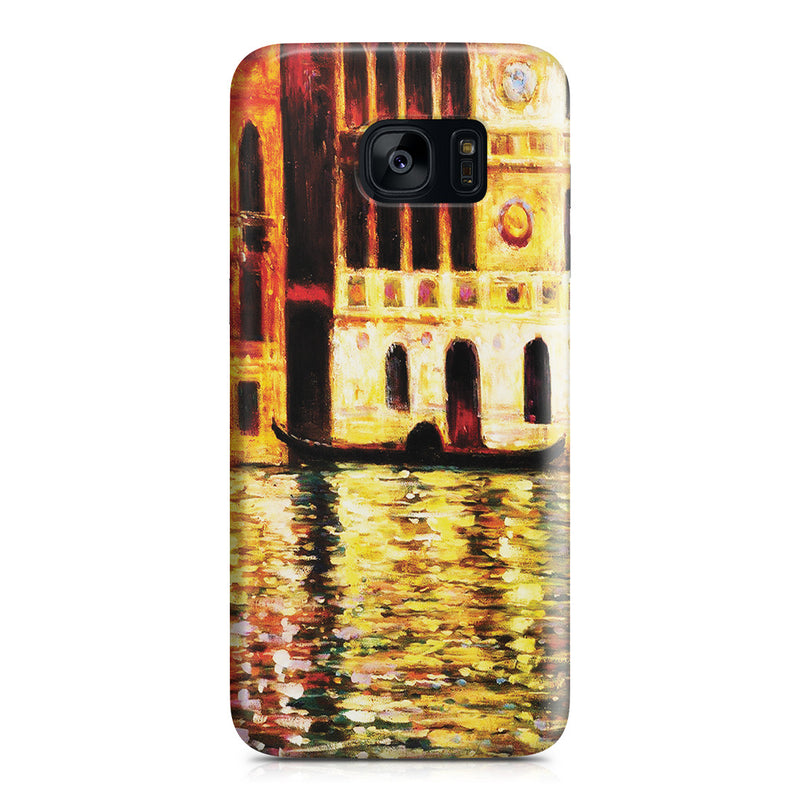 Galaxy S7 Edge Case - Palazzo Dario by Claude Monet