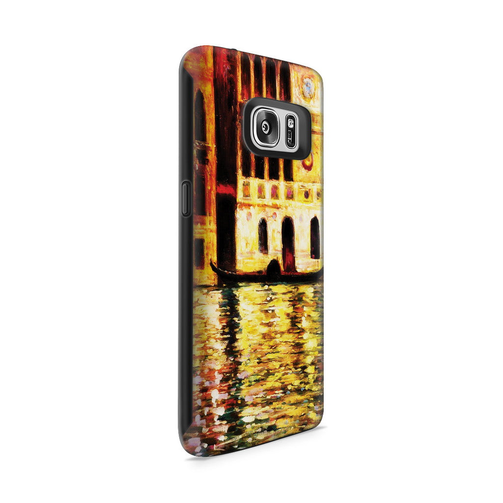 Galaxy S7 Adventure Case - Palazzo Dario by Claude Monet