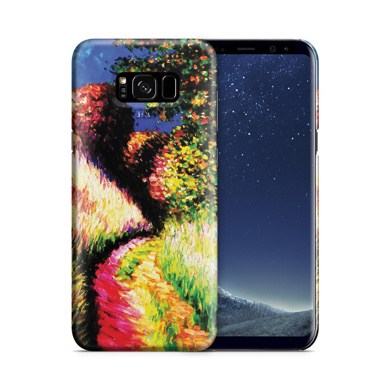 Galaxy S8 Plus Case - Path at Pourville by Claude Monet