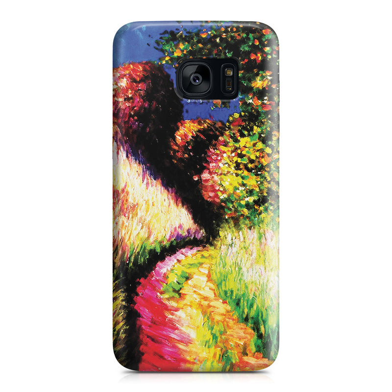 Galaxy S7 Edge Case - Path at Pourville by Claude Monet