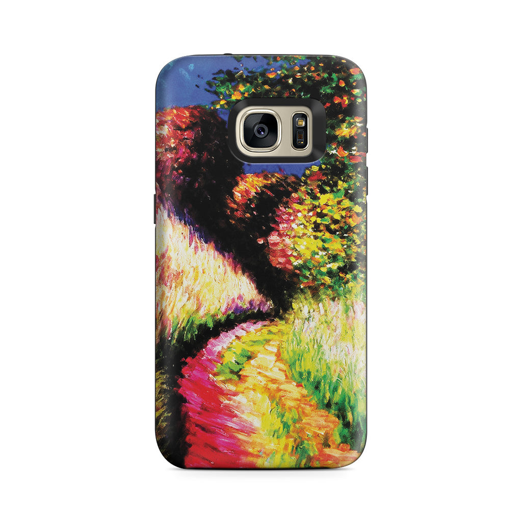 Galaxy S7 Adventure Case - Path at Pourville by Claude Monet