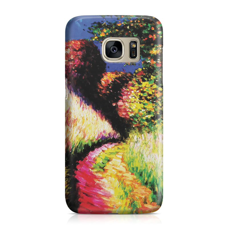 Galaxy S7 Case - Path at Pourville by Claude Monet