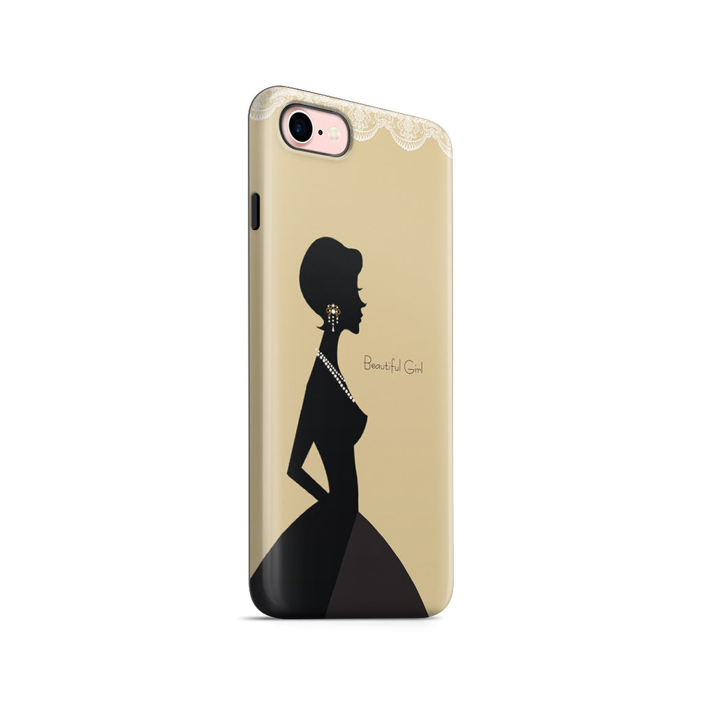 iPhone 6 | 6s Adventure Case - Gold Silhouette