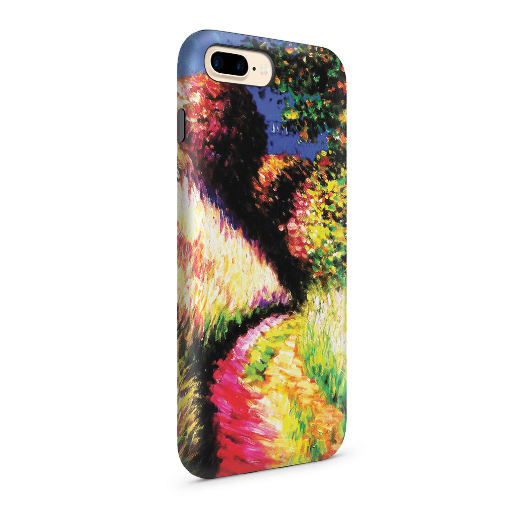 iPhone 7 Plus Adventure Case - Path at Pourville by Claude Monet