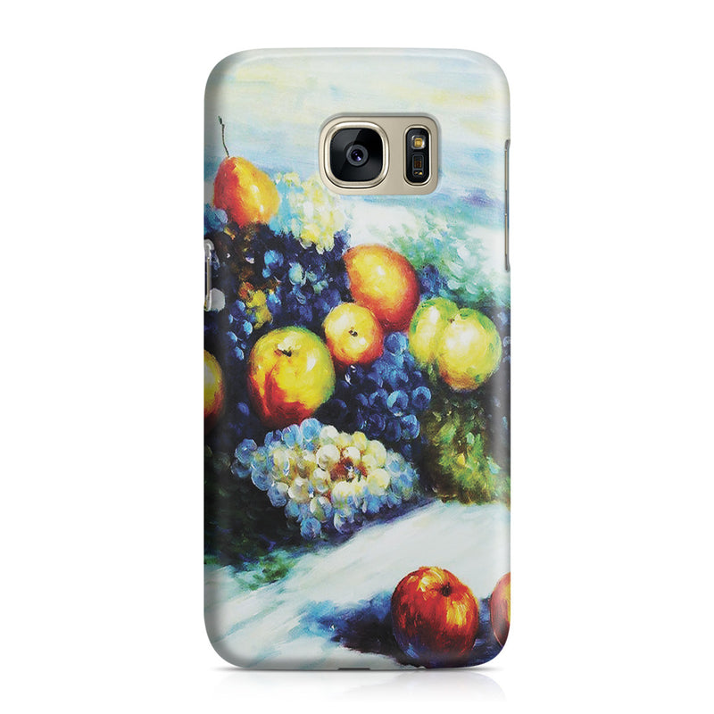 Galaxy S7 Case - Pears and Grapes by Claude Monet
