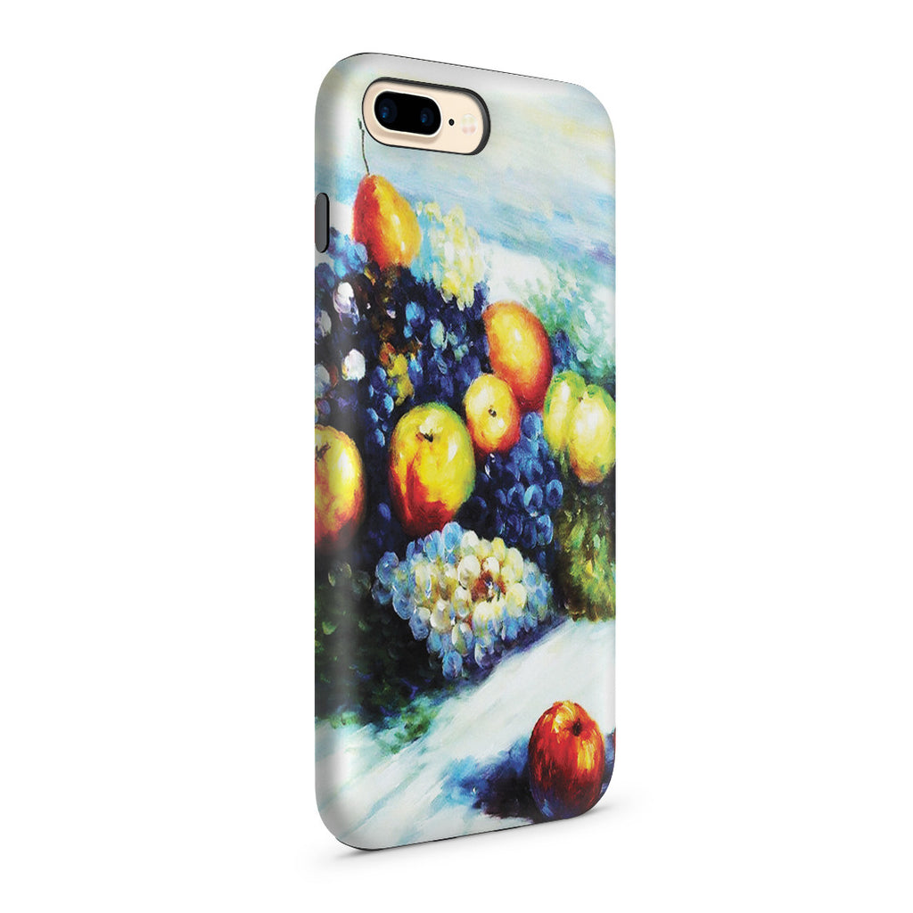 iPhone 7 Plus Adventure Case - Pears and Grapes by Claude Monet