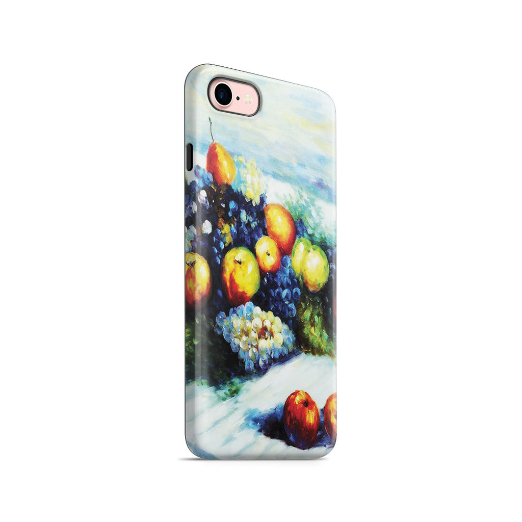 iPhone 7 Adventure Case - Pears and Grapes by Claude Monet