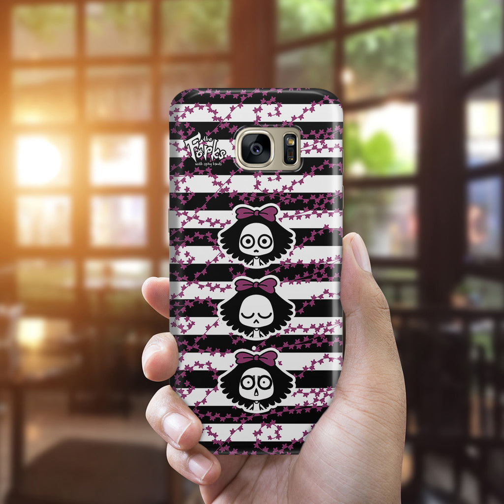 Galaxy S7 Edge Case - Punk Rock Girl