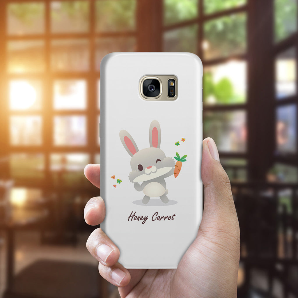 Galaxy S7 Edge Case - Honey Carrot