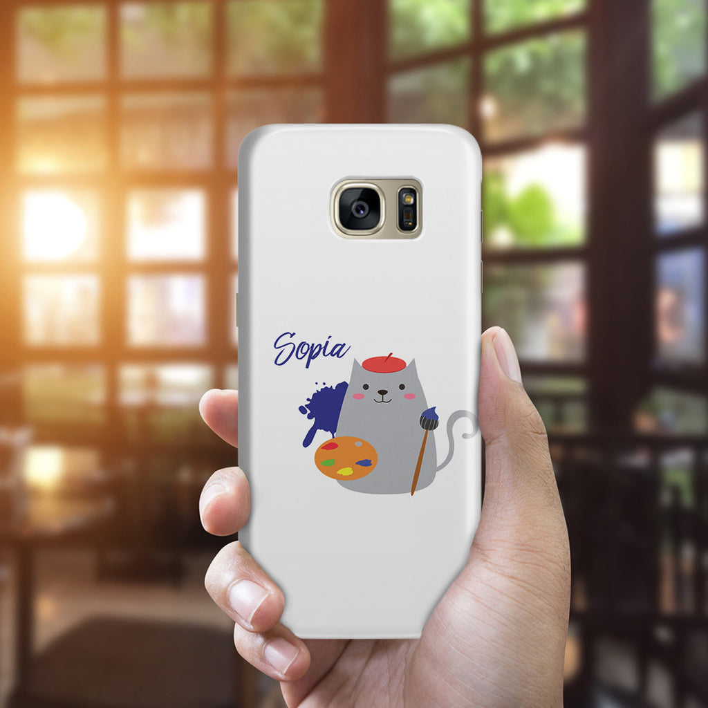 Galaxy S7 Edge Case - Cat Artist