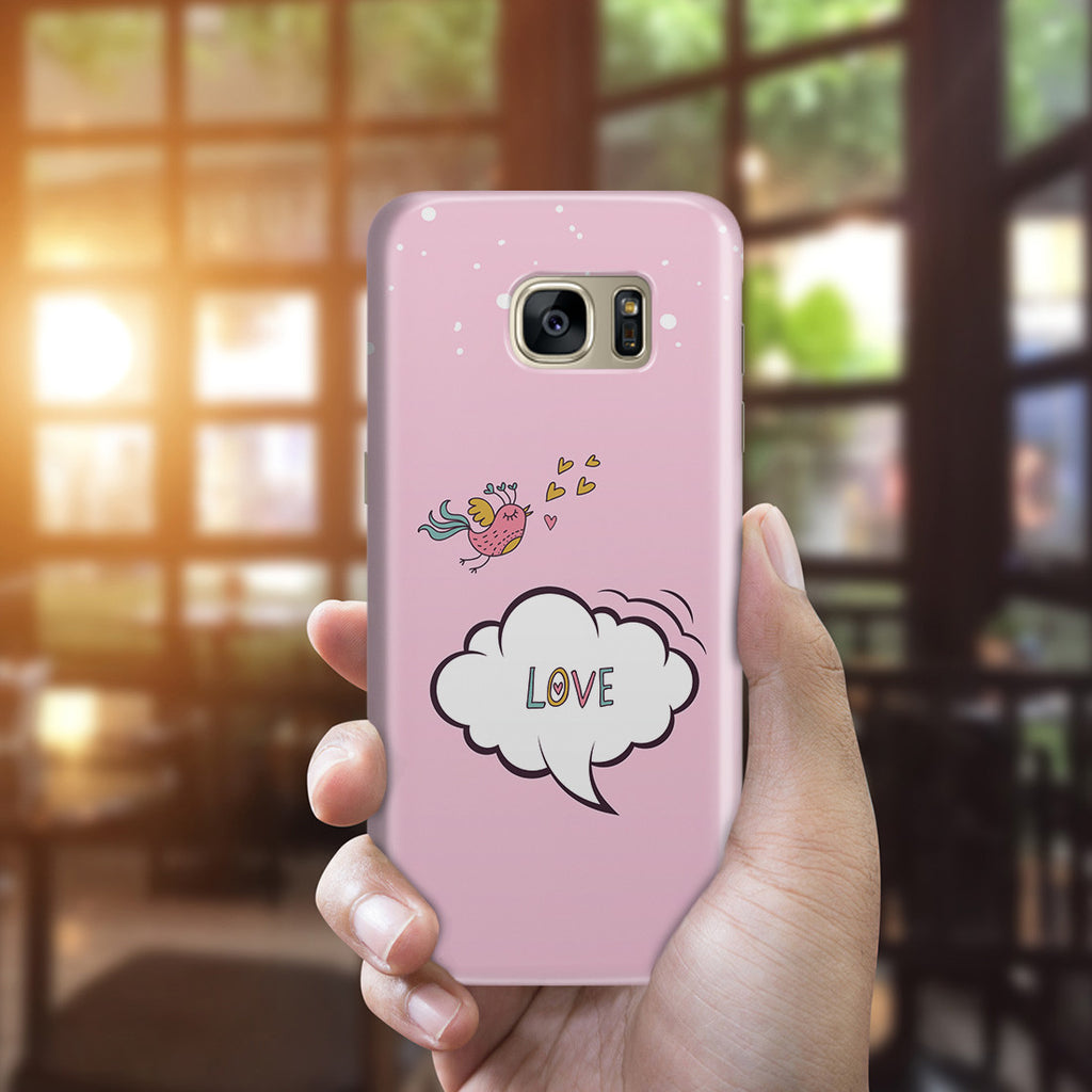 Galaxy S7 Edge Case - Lovebird