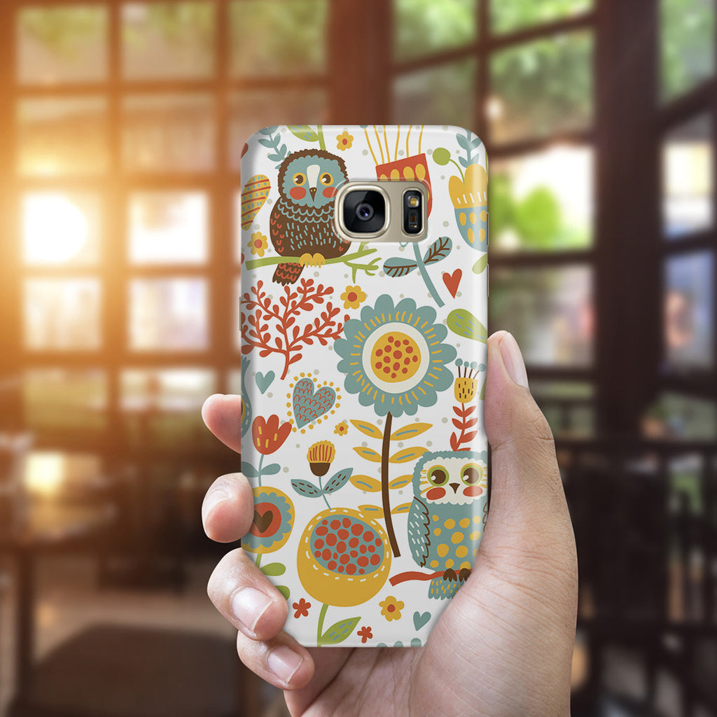 Galaxy S7 Edge Case - Morning Owl