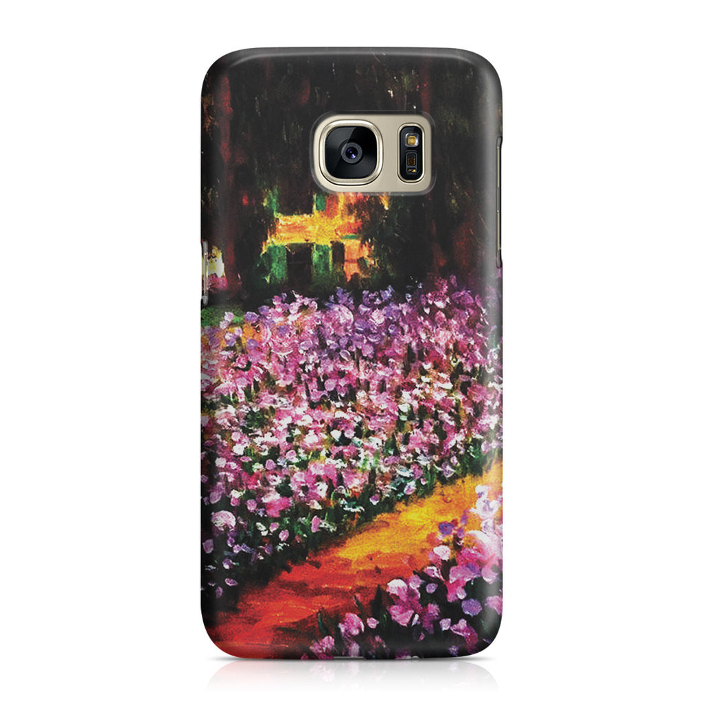 Galaxy S7 Case - Artist's Garden at Giverny by Claude Monet