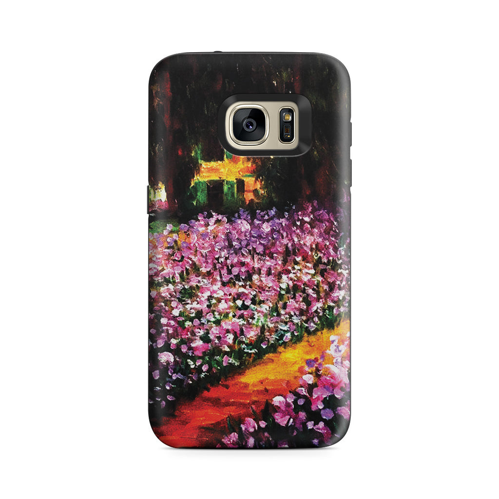 Galaxy S7 Adventure Case - Artist's Garden at Giverny by Claude Monet