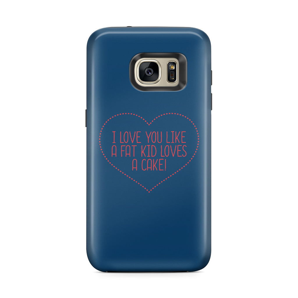 Galaxy S7 Edge Adventure Case - I Love You This Much