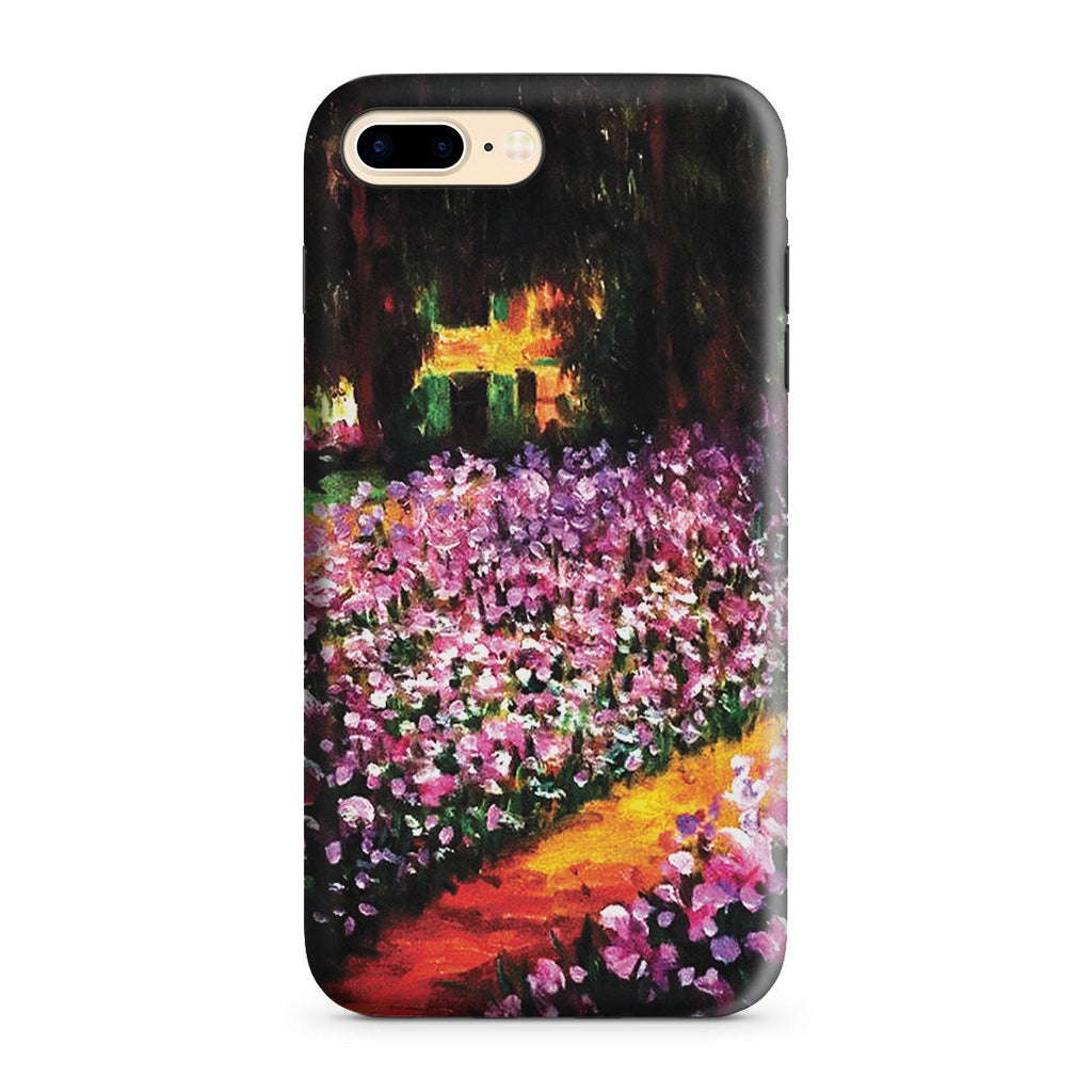 iPhone 8 Plus Adventure Case - Artist's Garden at Giverny by Claude Monet