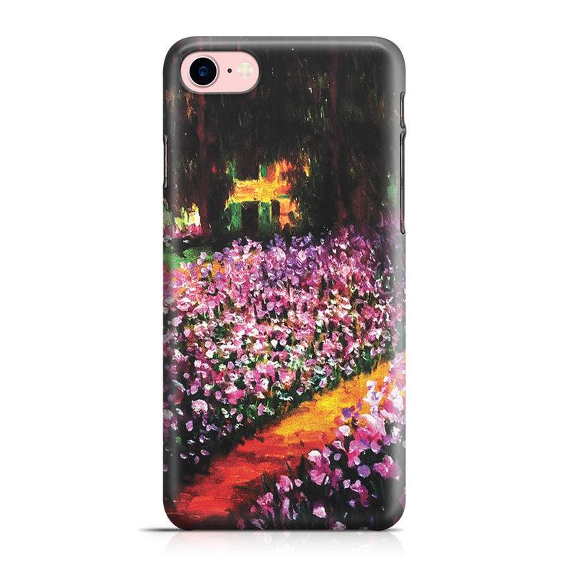 iPhone 7 Case - Artist's Garden at Giverny by Claude Monet