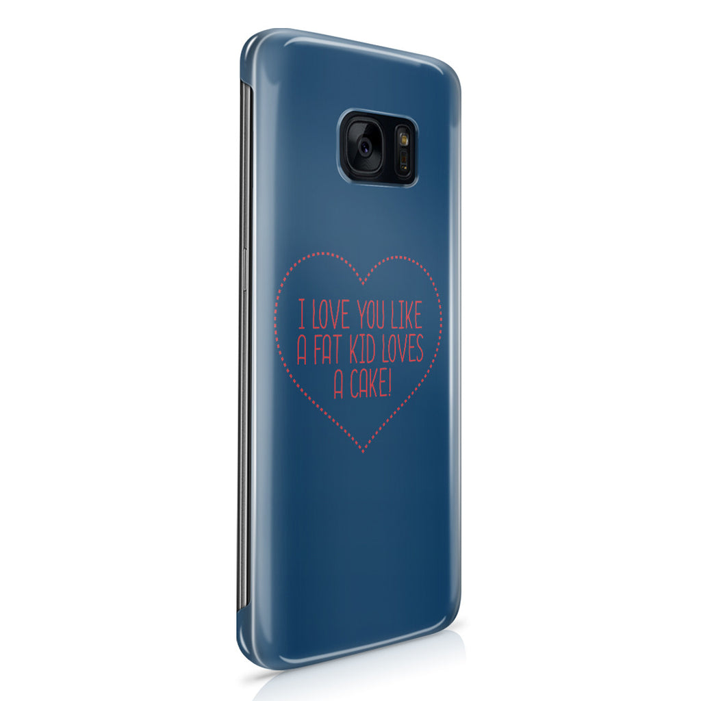 Galaxy S7 Edge Case - I Love You This Much