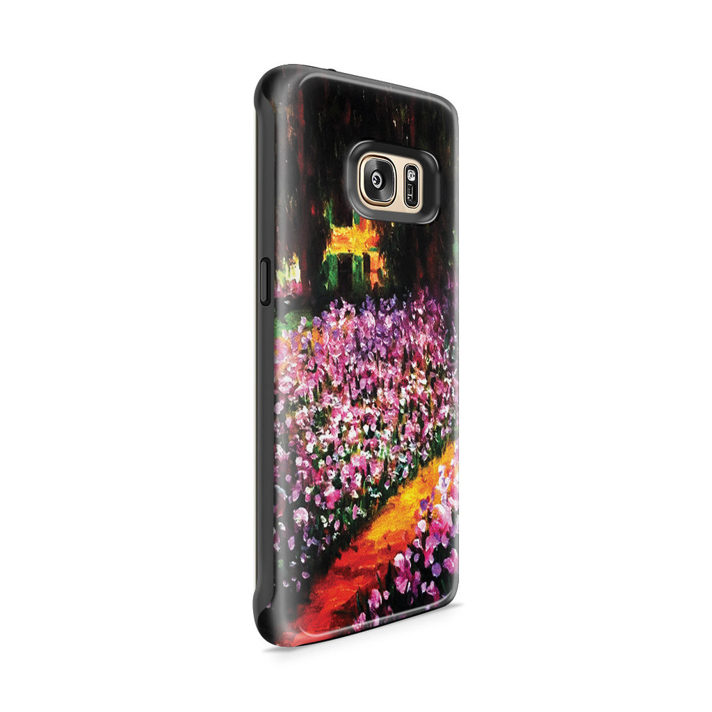 Galaxy S7 Edge Adventure Case - Artist's Garden at Giverny by Claude Monet