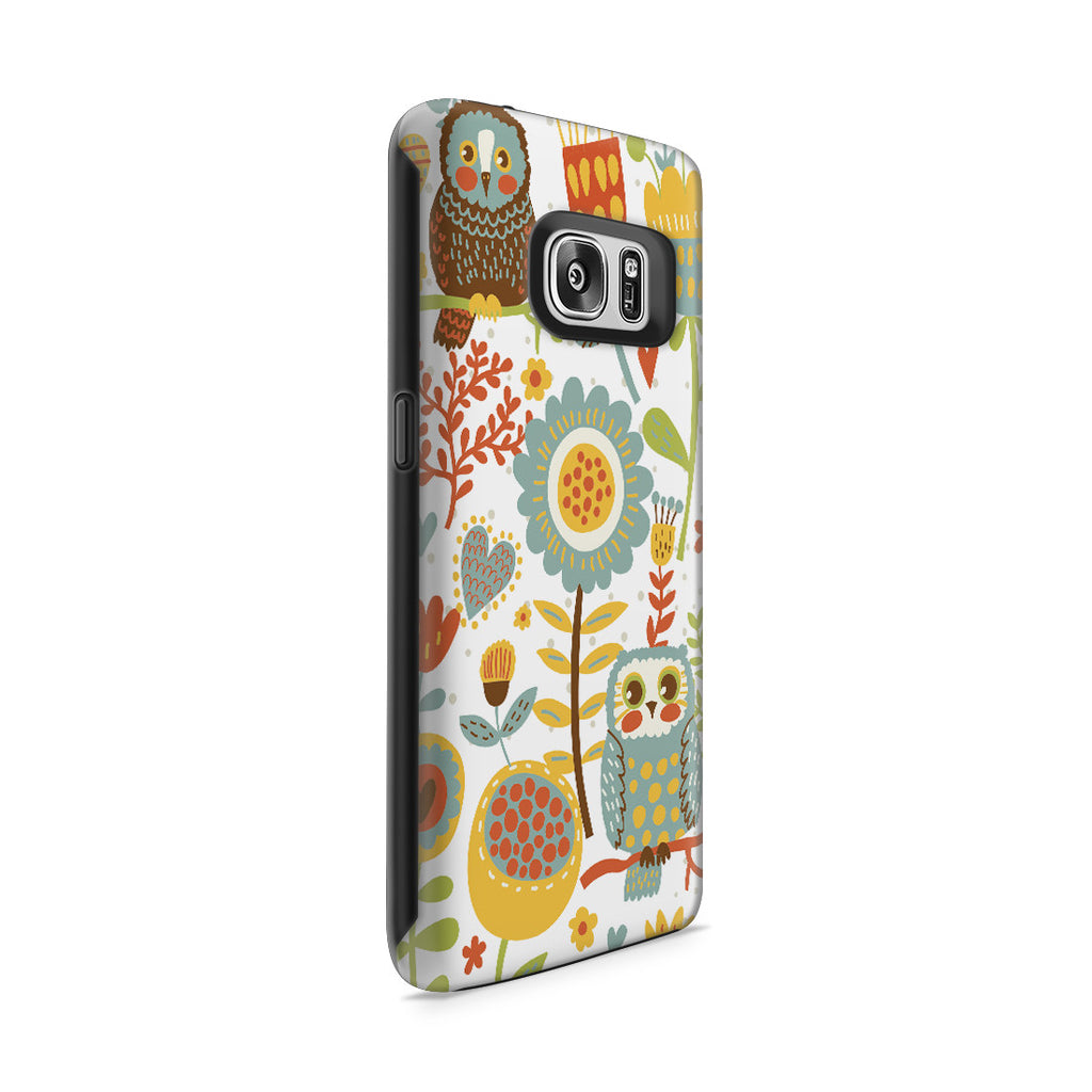 Galaxy S7 Adventure Case - Morning Owl