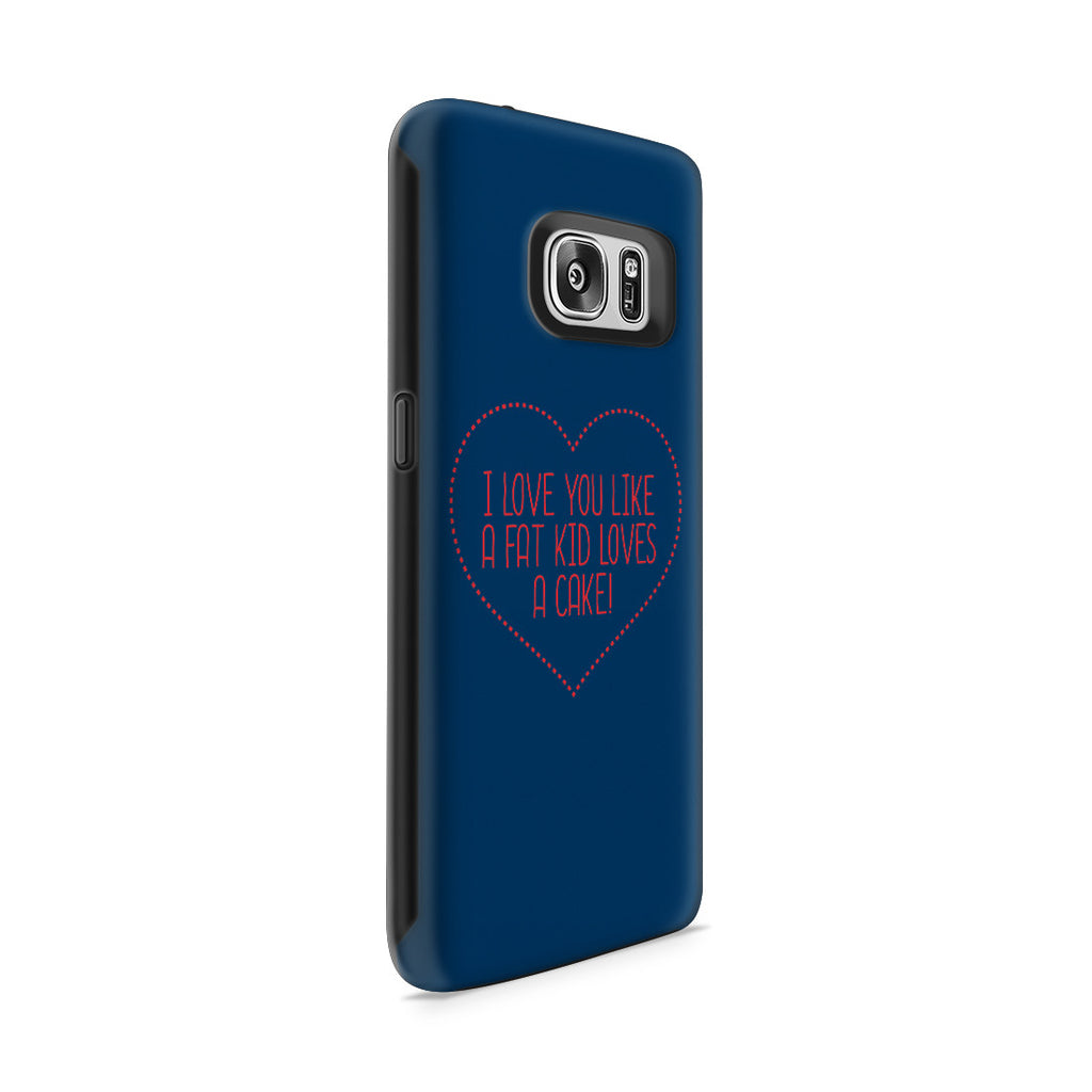 Galaxy S7 Adventure Case - I Love You This Much