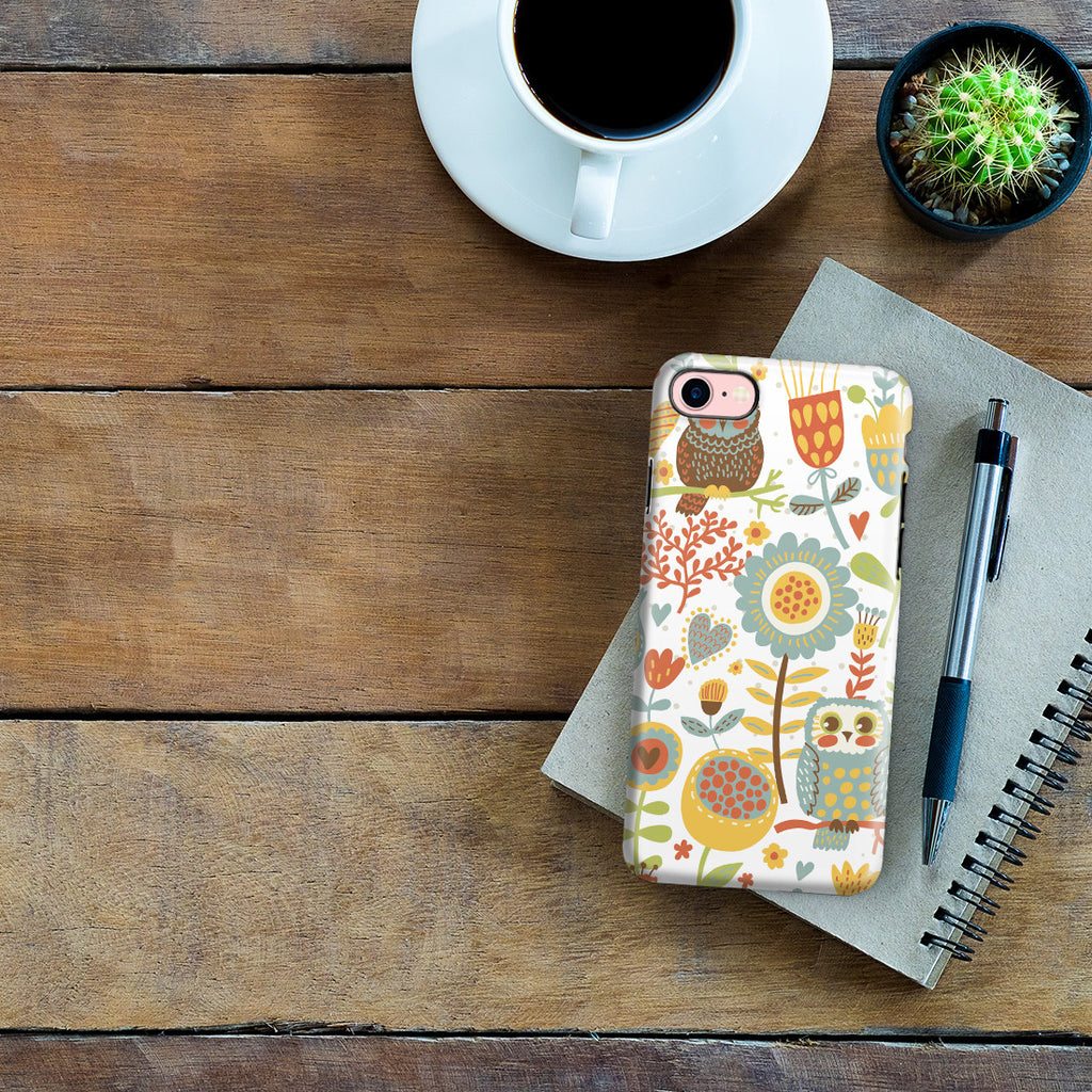 iPhone 7 Adventure Case - Morning Owl
