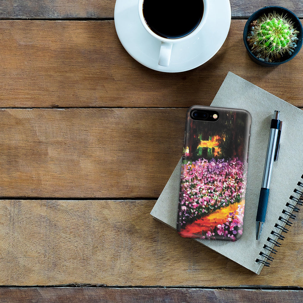 iPhone 7 Plus Case - Artist's Garden at Giverny by Claude Monet