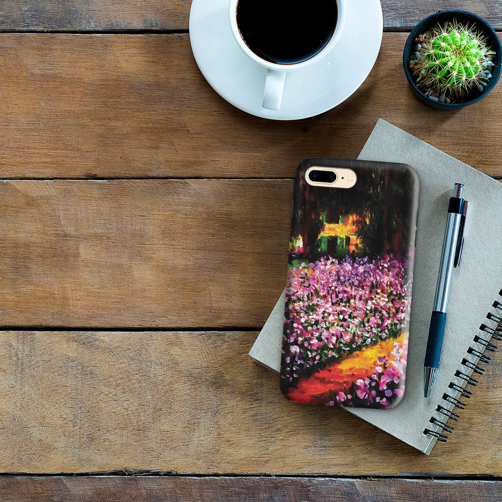 iPhone 7 Plus Adventure Case - Artist's Garden at Giverny by Claude Monet