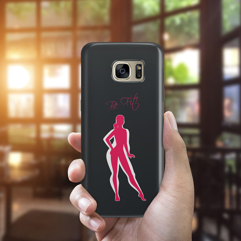 Galaxy S7 Edge Case - Be Fit