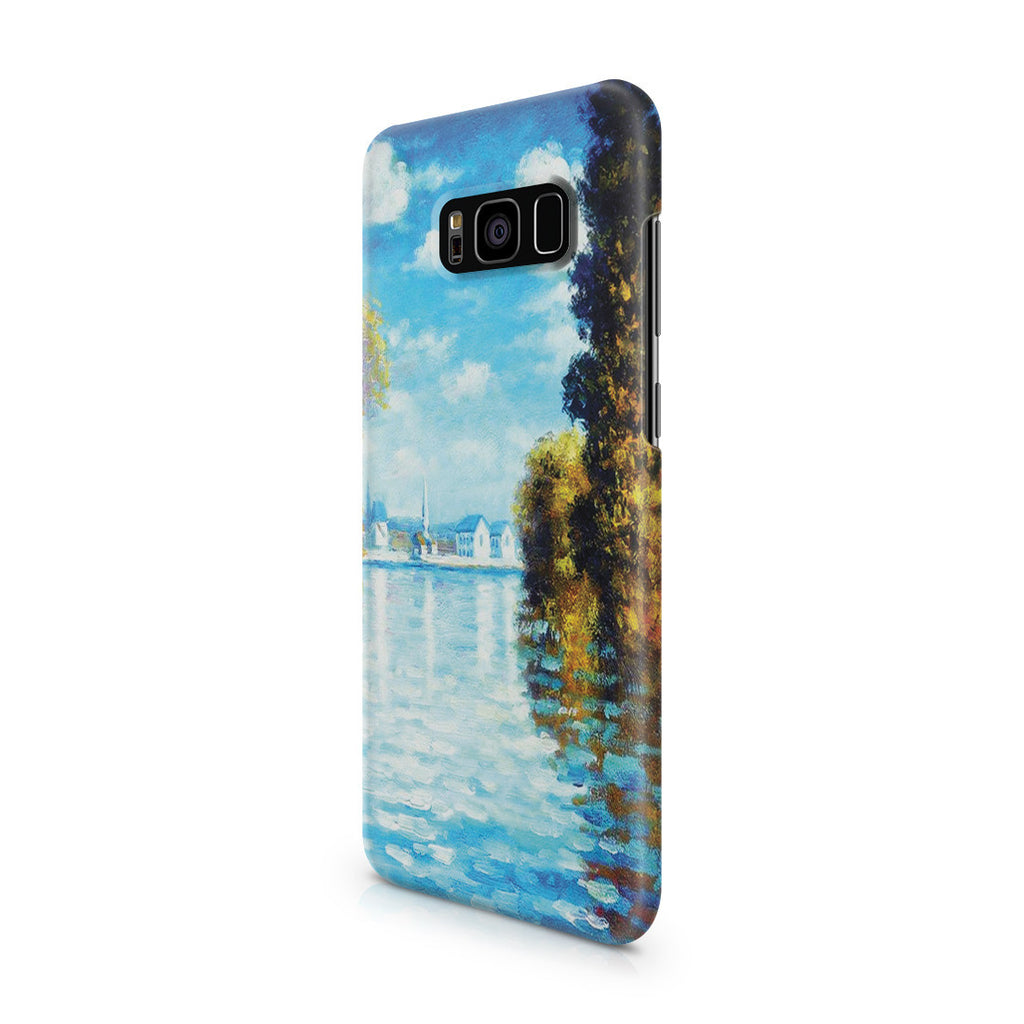 Galaxy S8 Case - Autumn at Argenteuil by Claude Monet