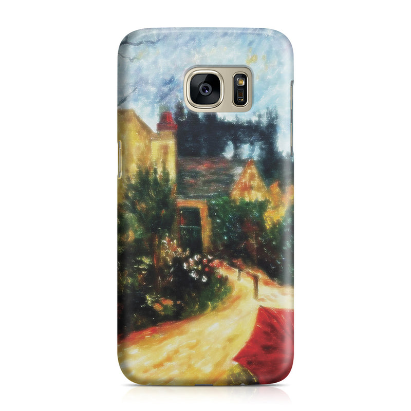 Galaxy S7 Case - Pissarro's Garden, Pontoise 1881 by Paul Gauguin