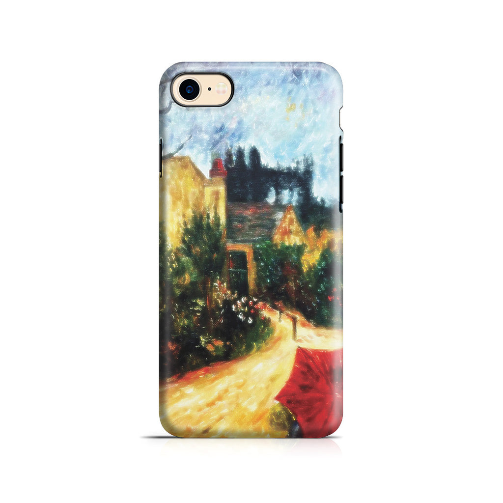 iPhone 7 Adventure Case - Pissarro's Garden, Pontoise 1881 by Paul Gauguin
